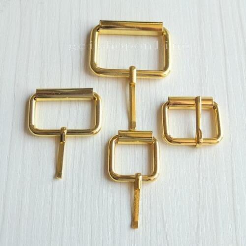 """2 5 10 Single Prong Roller Buckles 4 Belt Strap 3//4/"""" 1/"""" 1.25/"""" 1.5/"""" 25mm 38mm GD"""