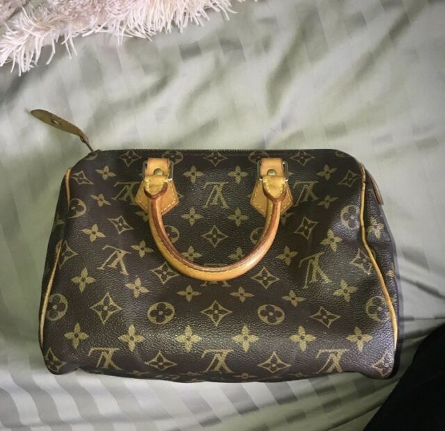Authentic Used Louis Vuitton Sdy 25 Monogram Handbag