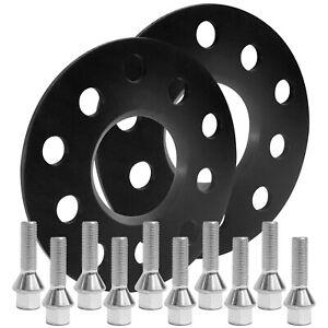 Blackline-Spurverbreiterung-10mm-m-Schrauben-silber-Alfa-Giulietta-940-alle