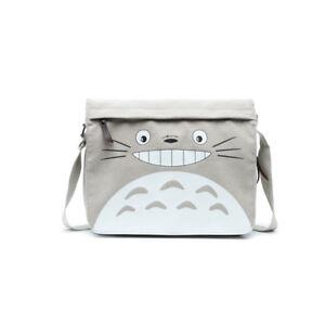 Anime Tonari no Totoro Canvas Shoulder Messenger Bag School Satchel Crossbody