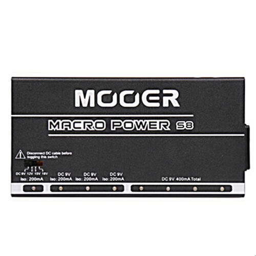 Mooer Macro Power S8 Isolated Professional Guitar Pedalboard Power Supply