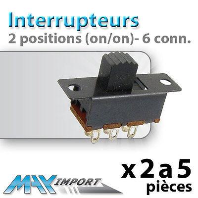 prix dégressif on//on Interrupteur à levier 2 positions - Lots multiples