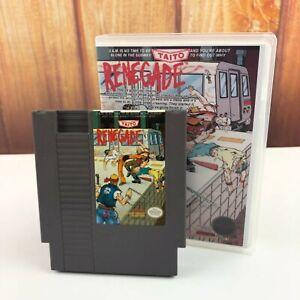 Renegade-Nintendo-NINTENDO-NES-Game-In-Plastic-Box-Case-VTG-Retro-Free-Ship