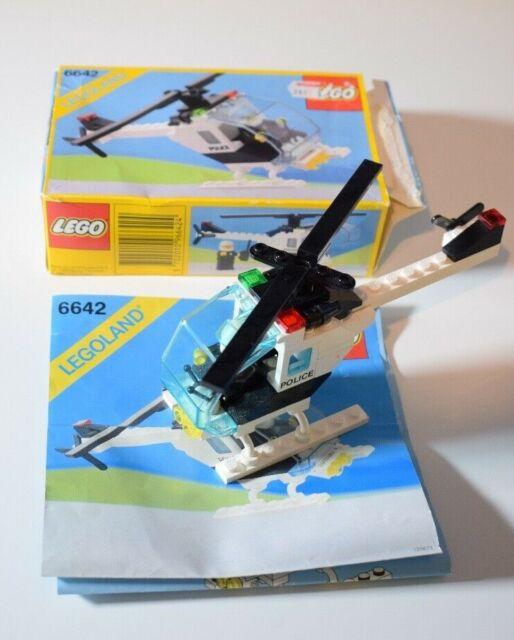 6642 LEGO TOWN Elicottero della Polizia vintage
