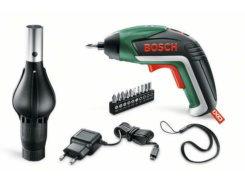 Bosch IXO V BBQ Set Akku-Schrauber + Gebläse