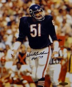 Dick-Butkus-Autographed-Chicago-Bears-8x10-Vertical-Photo-With-HOF-Tristar-Auth