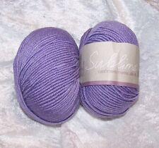 Sublime Cashmere Merino Silk dk Lavender 0166 Pashmina Purple 2 Sk Yarn Same Lot