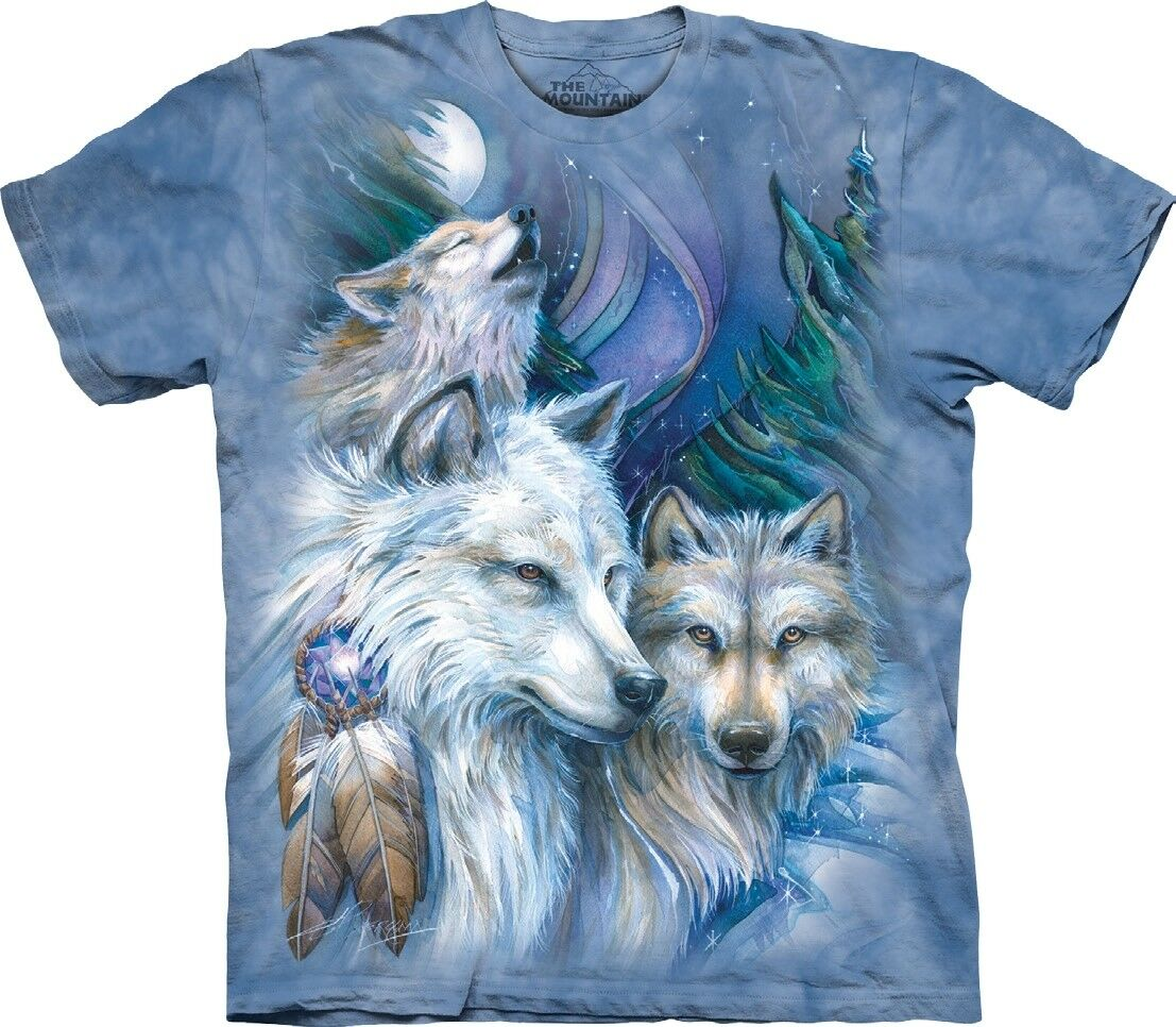 The Mountain Unisex Adult Unforgettable Journey Wolf T Shirt