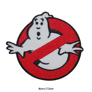 Ghost-Buster-Movie-Embroidered-Patch-Iron-on-Sew-On-Badge-For-Clothes-Bag-etc