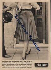 WUPPERTAL, Werbung / Anzeige 1960, Vereinigte Glanzstoff Fabriken AG Diolen
