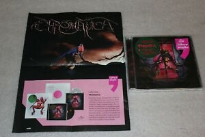Lady-Gaga-Chromatica-CD-Polish-STICKERS-Promo-sheet-NEW-SEALED