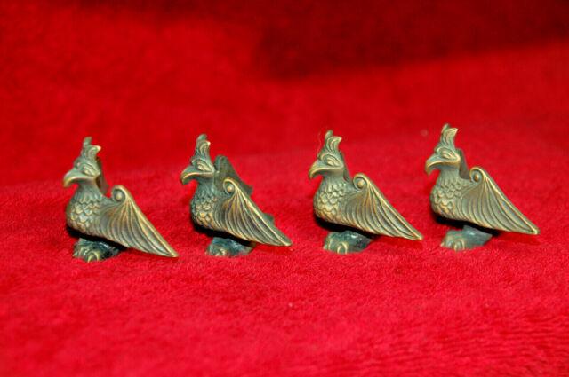 Bronze Brass Eagle Box Feet legs corner corner guard furniture accessory, 4pcs