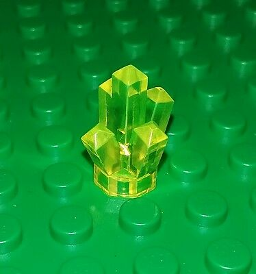 Lego Hose Flexible Round Ends Trans Yellow Vintage Classic Spaceships x 1 piece