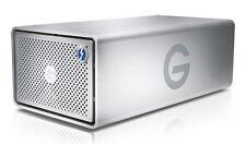 G-TECH - G-RAID - REMOVABLE 8TB THUNDERBOLT 2 & USB 3.0 SILVER EMEA- 0G04086