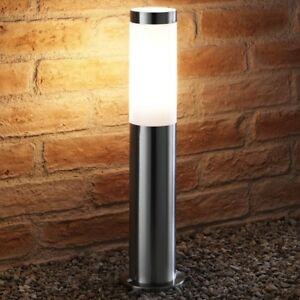 Auraglow-in-Acciaio-Inox-da-Giardino-Percorso-POST-LUCE-5w-Lampadina-LED-incluse