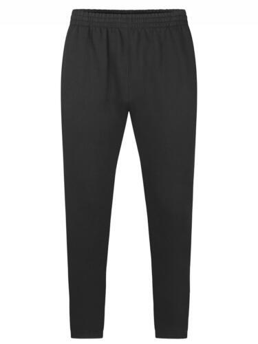 Uneek Unisex Mens Deluxe Jog Bottoms Casual Jogging Pocket Sweatpants Trousers