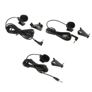 Car-Bluetooth-External-Microphone-for-Car-Stereo-3-5mm-2-5mm-GPS-DVD-Radio