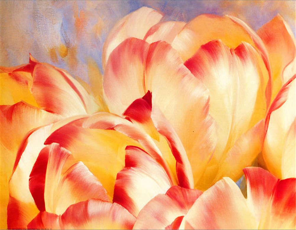 Vibrant Free Flower 3D Full Wall Mural Photo Wallpaper Printing Home Kids Decor