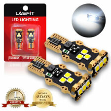 LASFIT LED Reverse Back Up Light Bulb 921 912 W16W 904 906 916 Super White 6000K