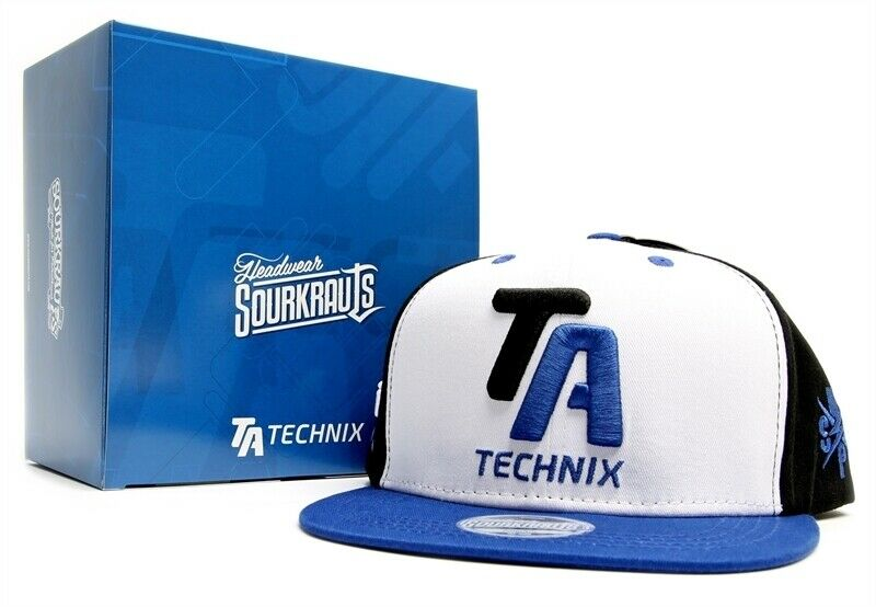 Ta Technix Gorra By Sourkrauts Gorra de Snapback 6-PANEL Cierre 3D Bordado
