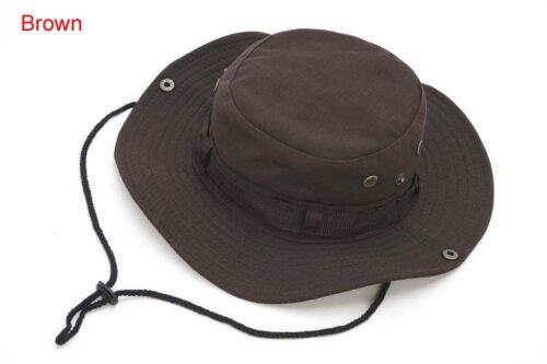 Classic US Army Gi Style Boonie Jungle Hat Ripstop Cotton Combat Bush Sun Cap