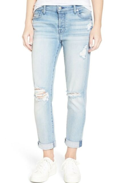 31f8dfce2f6613 NWT 7 FOR ALL MANKIND Sz26 JOSEFINA SKINNY-BOYFRIEND JEANS BRIGHT BRISTOL 2