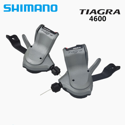 Right w// Cable Shimano Tiagra SL-4600 2x10 Speed Rapidfire Shifter Lever Left