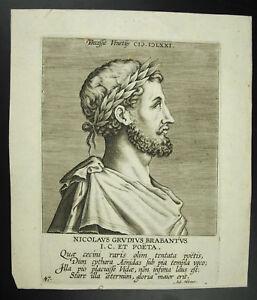 Nicolaus-Grudius-Brabantus-By-Aub-Miroeus-Dichter-Mort-in-1571-ab-Venedig-Italy