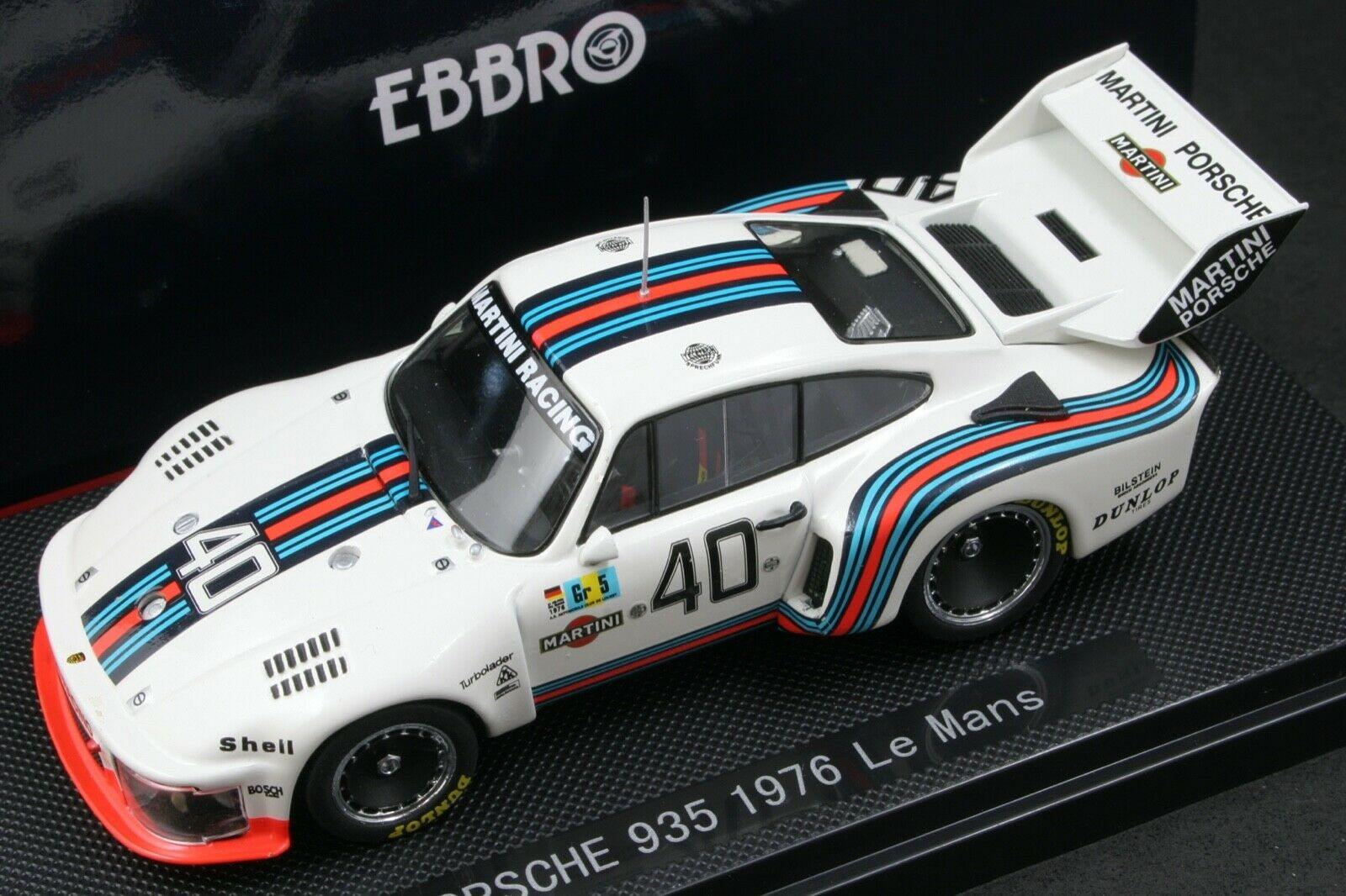 Ebbro 43768 1 43 Martini Porsche 935 Group 5 Le Mans 1976 Die Cast No Minichamps For Sale Online