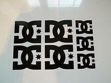 8 x DC Shoe Vinyl Decal Stickers JDM Euro Ski Skateboard Snowboard JAP Ken Block