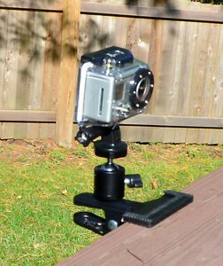 Tree Stand Trail Hunting Clamp Mount for GoPro HERO HERO2 HERO3 HERO3+ HERO4