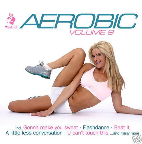 CD Aerobica Vol 9 di Vari Artisti Dal The World Of Serie 2CDs