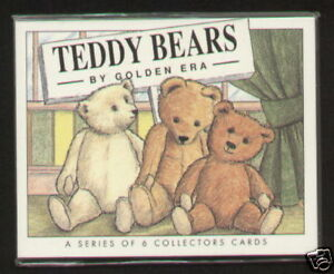 TEDDY BEARS by Golden Era - Collectors Card Set - Steiff Gerbruder Bing Hermann