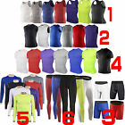 Various Mens Sports Compression Base Layers Tight Skin T-Shirts Vest Pant Shorts