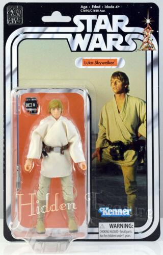 "Star Wars 40th Anniversary Luke Skywalker 6/"" Action Figure Genuine Kenner"
