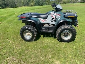 Polaris Sportsman 500 H.O 4x4 ATV Automatic Winch & Heated Grips