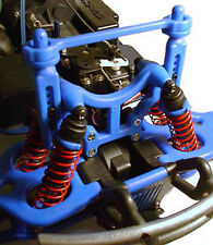 Traxxas T-Maxx E-Maxx Shock Tower & Body Mounts (Blue) by RPM Products 80165
