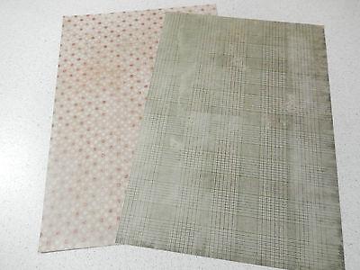 """Studiolight: doppelseitiges Hintergrundpapier """"Weihnachten - Vintage"""" DIN A4 136"""