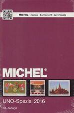 Michel Spezial-Katalog Vereinte Nationen UNO - Spezial 2016, 33. Auflage