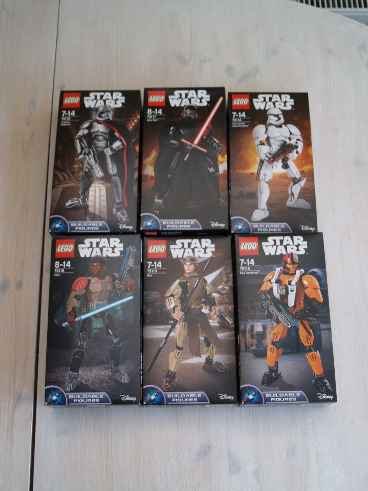 BNIB Lego Star Wars Buildable Figures Series 2 incl Phasma, Kylo Ren etc