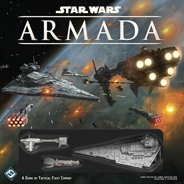 New Star Wars Armada Miniatures Game Starter Core Set - SWM01