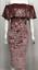 Le-donne-Off-spalla-BARDOT-Maglione-Abito-Volant-Ruffle-Top-in-Maglia-a-Manica-Lunga-Bodycon miniatura 17