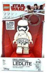FIRST ORDER STORMTROOPER LED LITE KEYCHAIN lego legos NEW minifigure STAR WARS
