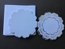 CREATE BEAUTIFUL HANDMADE GREETING CARDS WITH THIS CRISP WHITE CARD STOCK