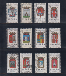 ESPANA-1962-SERIE-COMPLETA-USADA-EDIFIL-1406-17-ESCUDOS