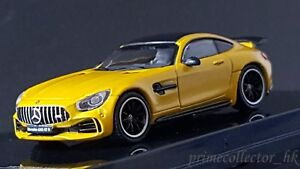 Details About Tarmac Works 1 64 Mercedes Amg Gtr Yellow T64 006 Sb