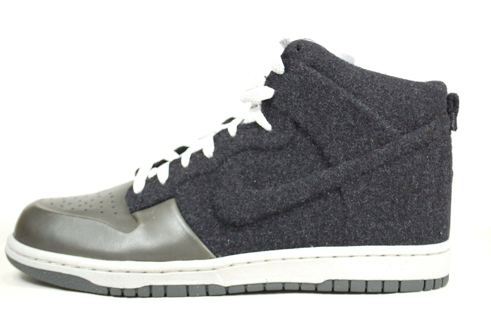 RARE Nike Dunk Dunk Dunk High 08 Prm 472517-001 Leather/Wool Midnight Hi Top 915c1e