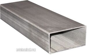 Stainless steel box section D//P 25mm x 25mm x 1.5mm x 500mm
