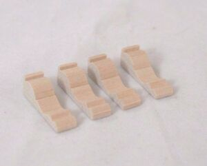 Brackets-wooden-1-12-scale-dollhouse-miniature-furniture-CLA70261-4pack
