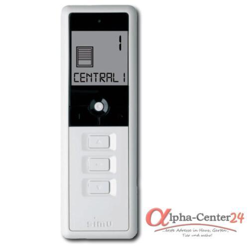 Simulado Hz radio transmisores manuales 16 canal control remoto roll cargar interruptor del motor blanco